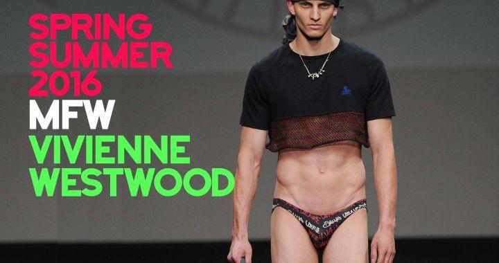 Vivienne Westwood MAN – Spring-Summer 2016 – Milan Fashion Week