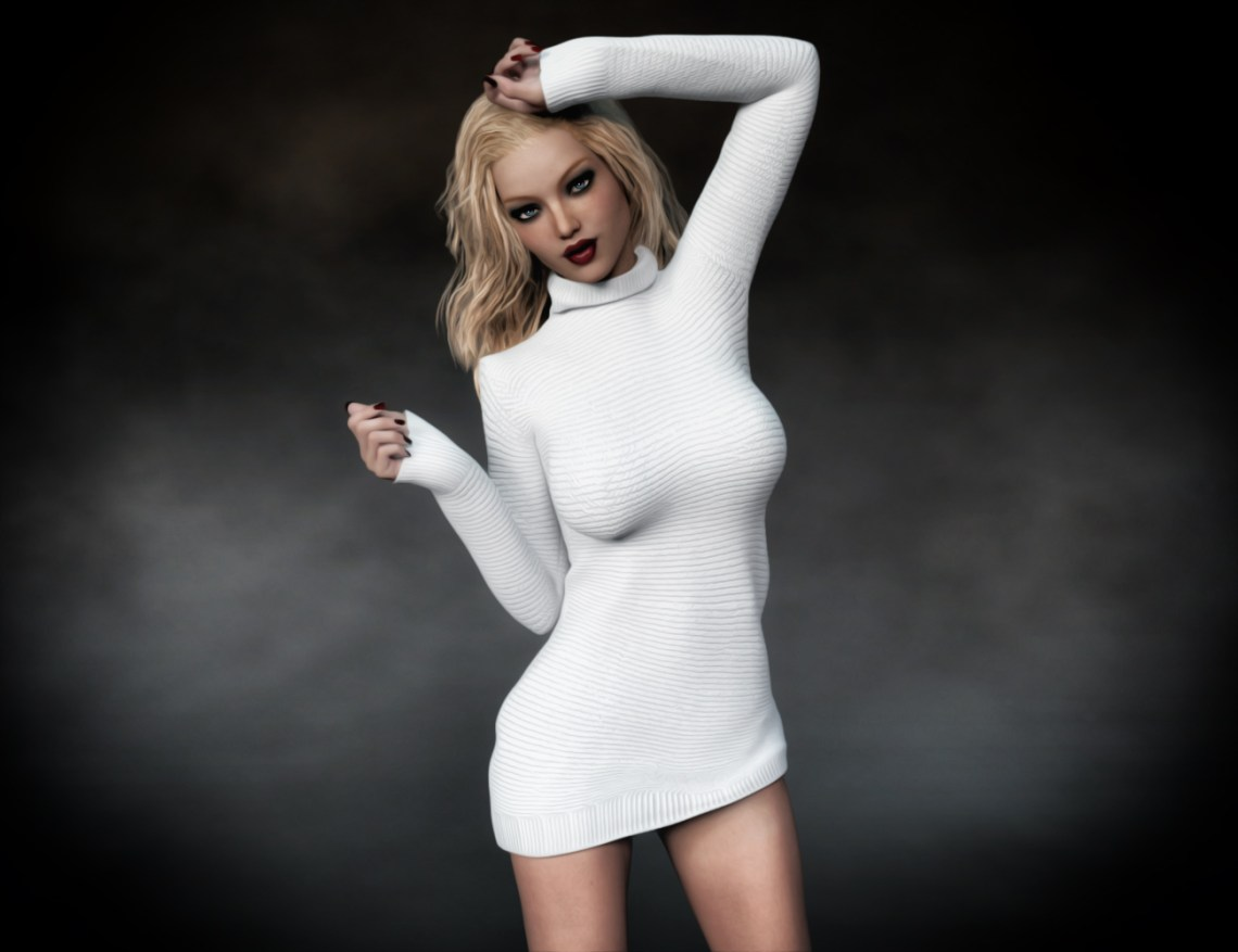 Sienna - White Dress 5