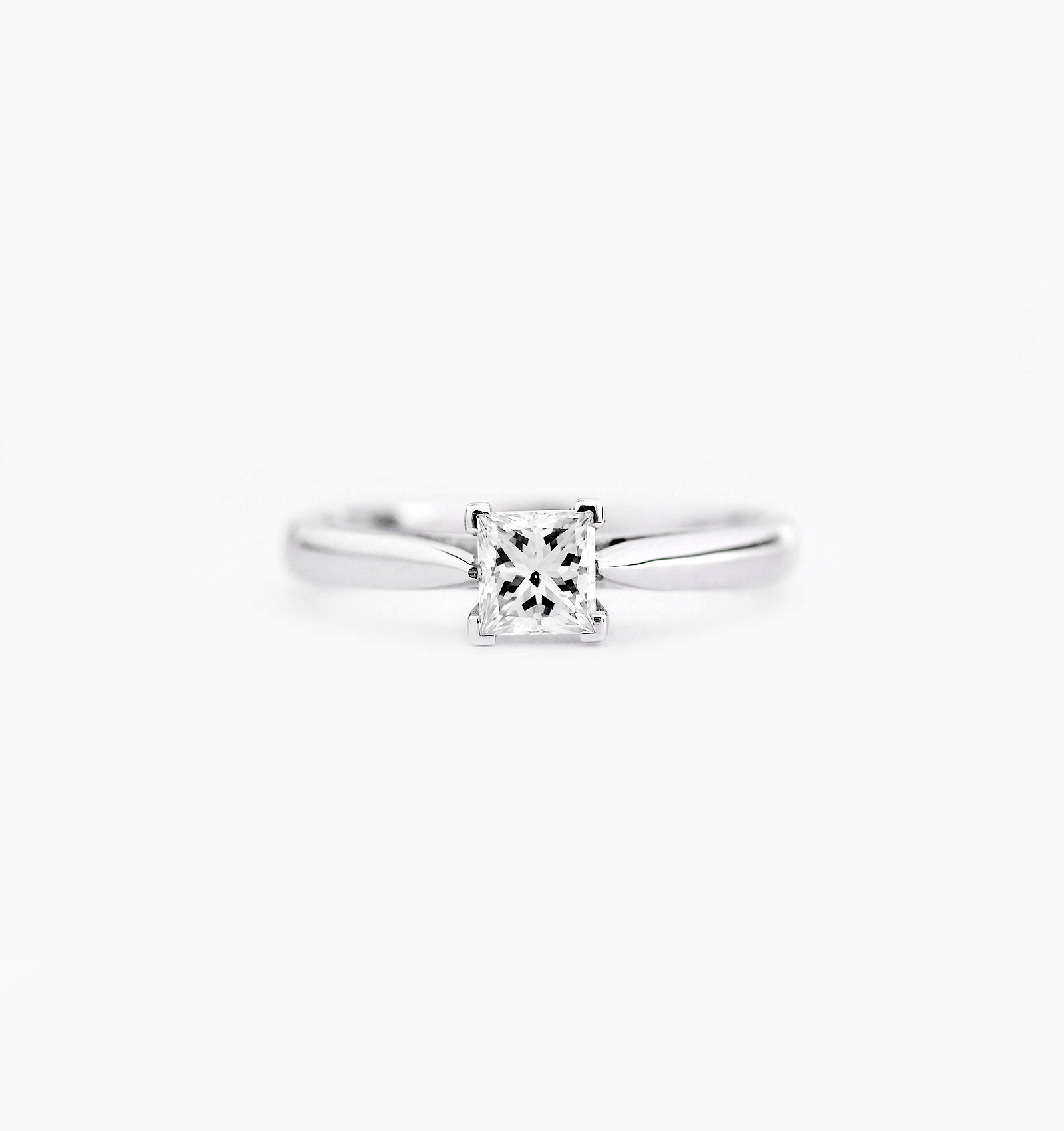 platinum rings princess sku shop cert engagement ring solitaire gia size diamond