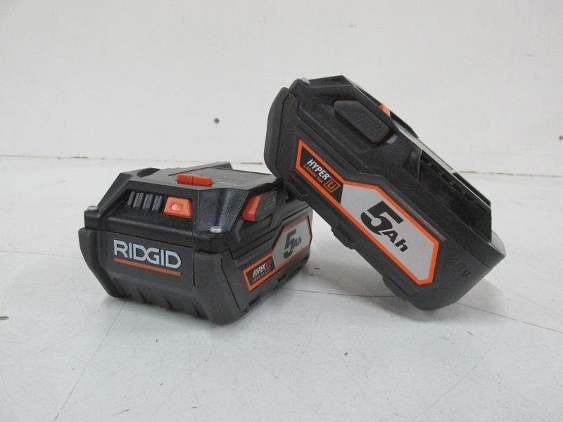 Ridgid 18v Battery 2 Pack
