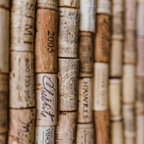 Photo of wine corks