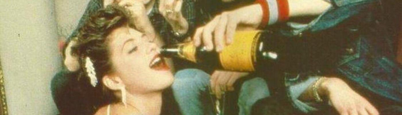 Madonna & the Beastie Boys sipping champagne