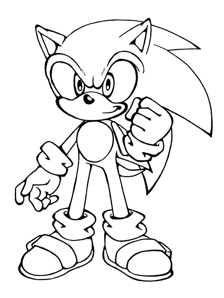 Dibujos Para Pintar Sonic