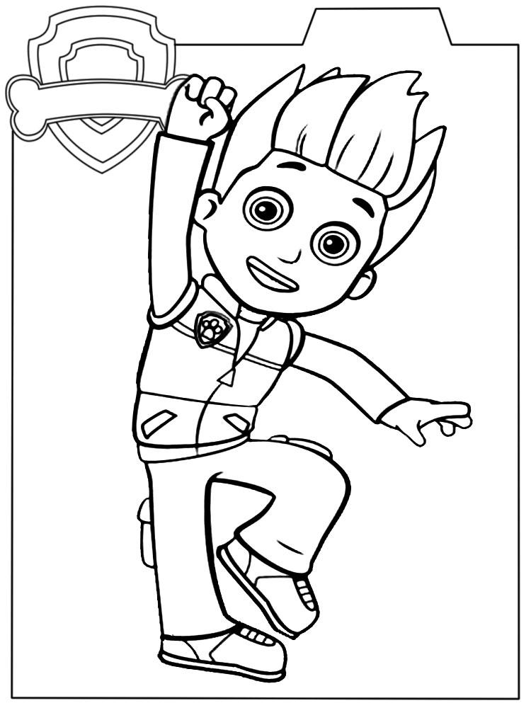 Dibujos De Ninos Dibujos Para Colorear Para Ninos Paw Patrol