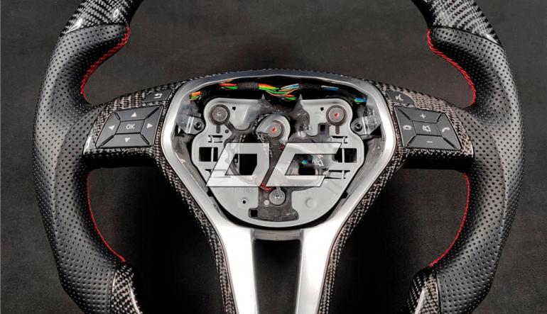 Custom carbon rat til Mercedes Benz C-class W204 /AMG E-class W212