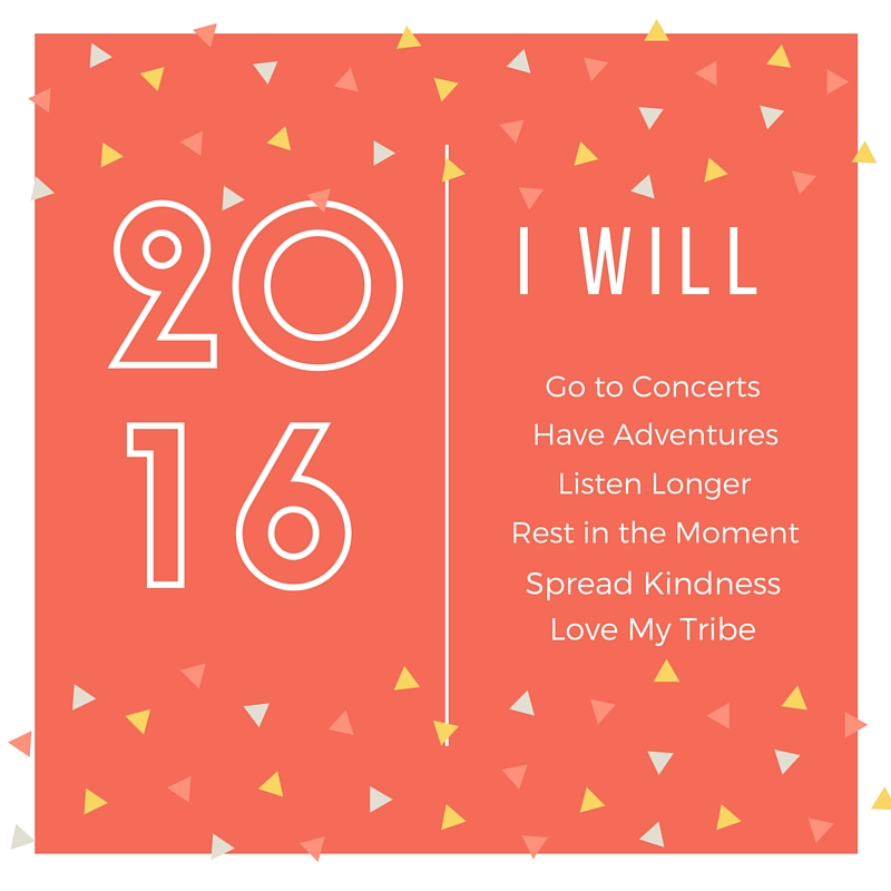 I Will Do More in 2016