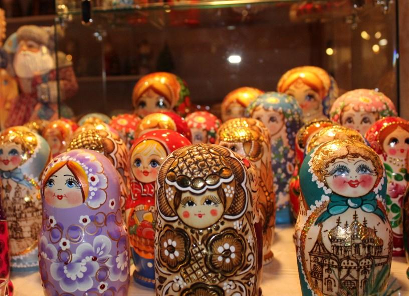 Wooden Wonders nesting dolls