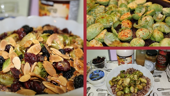 Brussels sprout collage