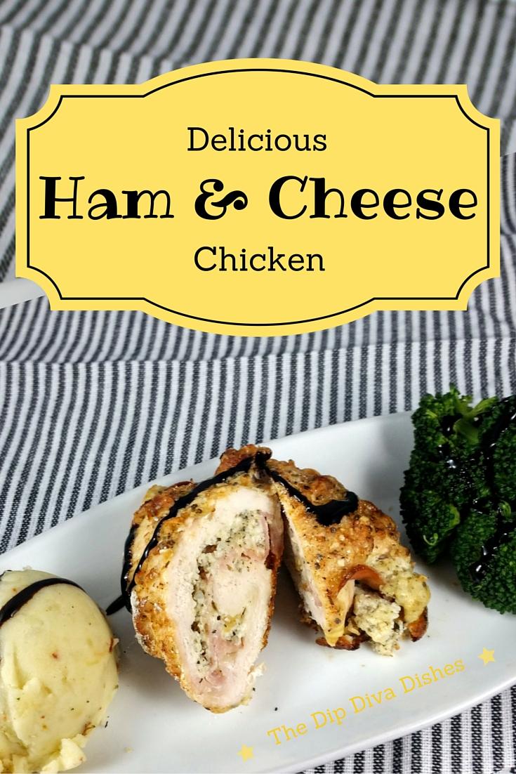 Ham and Cheese Chicken