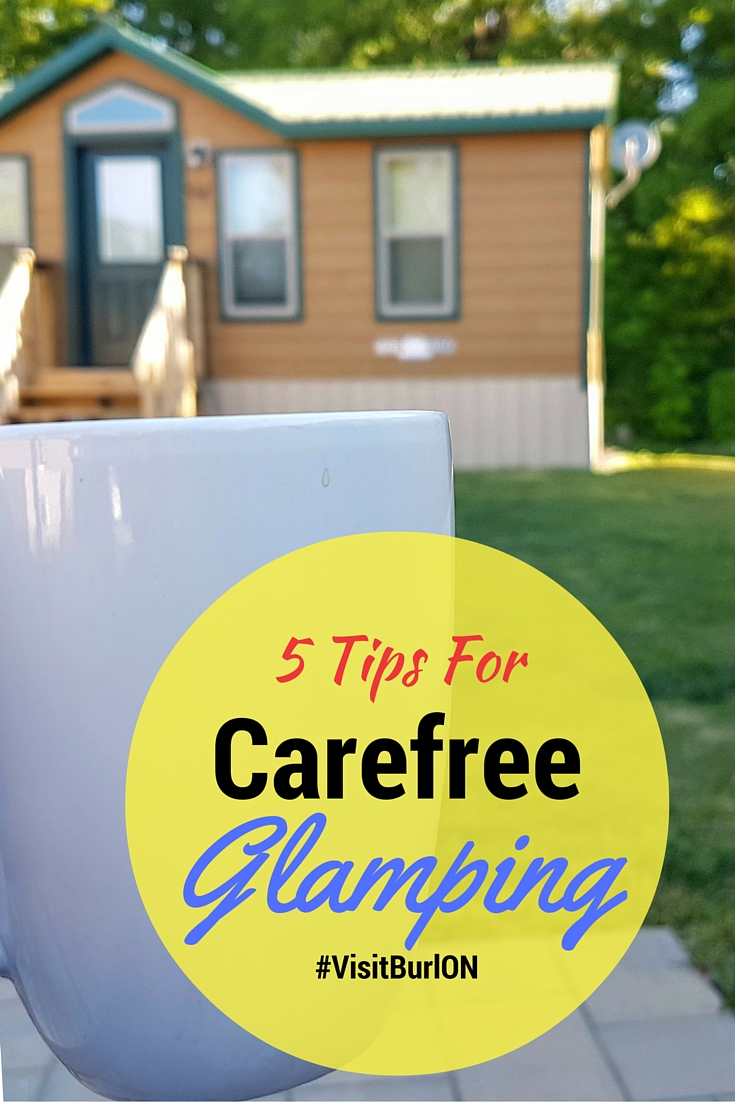 5 Tips for Carefree Glamping