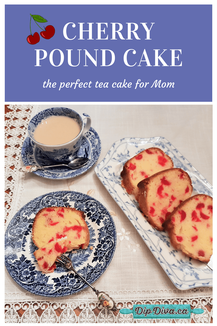 the perfect tea cake for mother's day