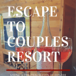 escape to couples resort