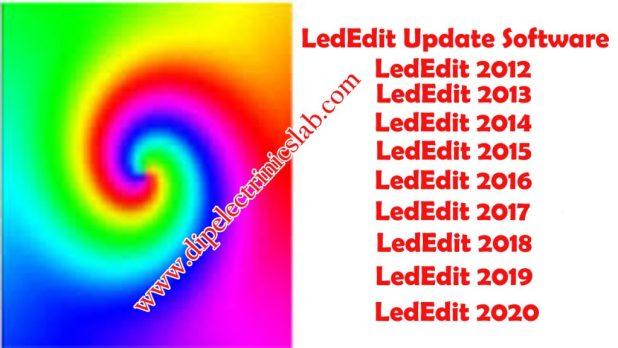LedEdit Update Software