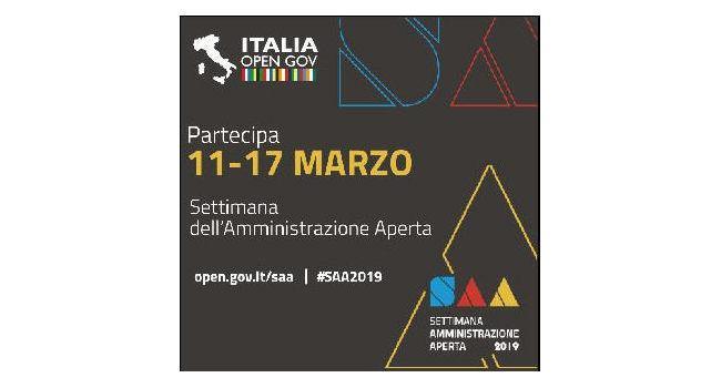 La Regione Puglia partecipa alla Settimana dell'Amministrazione Aperta