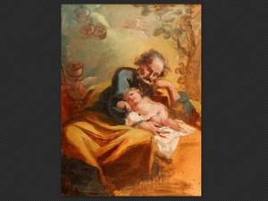 Domenico Pedrini | San Giuseppe col Bambin Gesù