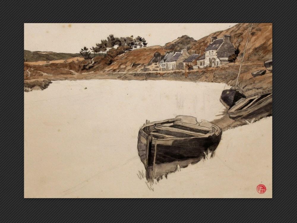 Lucien Ott, Costa bretone