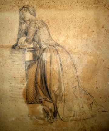 Luigi Busi, Studio di figura (retro del dipinto)