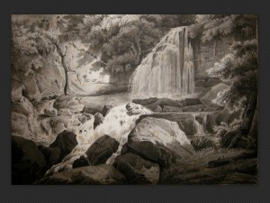 Pietro Poppi | Paesaggio monocromo - Galleria de' Fusari