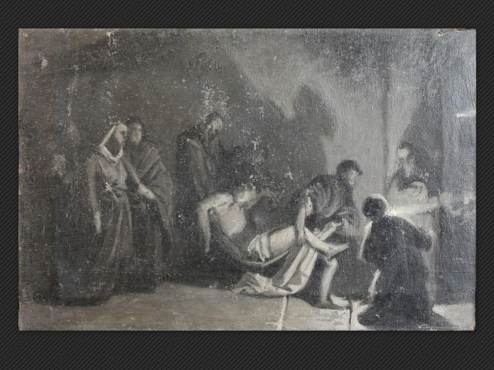 Dipinti antichi | Galleria de' Fusari | Alessandro Guardassoni, La tumulazione di Cristo