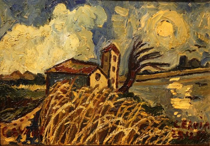 Amedeo Cavani, Cervia – 1982, Olio su tela, cm 30 x 43