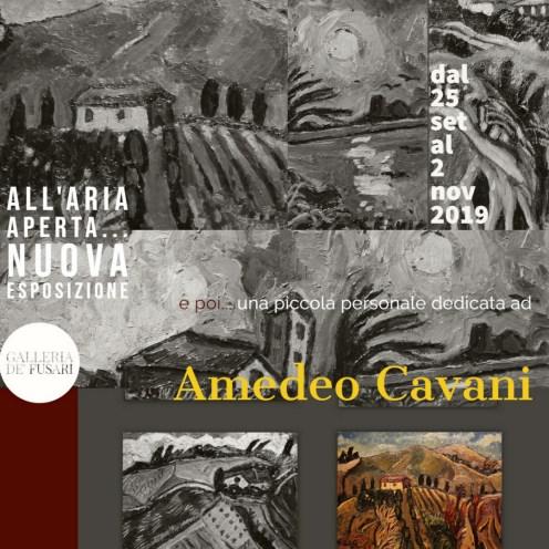 Una piccola personale dedicata ad AMEDEO CAVANI (Spilamberto, 1936 - Bologna, 2016)