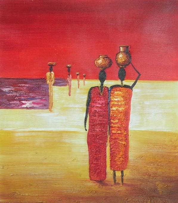 donne africane dipinte  dipintinmovimento