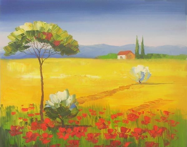 Boschi ruscelli e valli  la Natura dipinta di Dipintinmovimento  dipintinmovimento