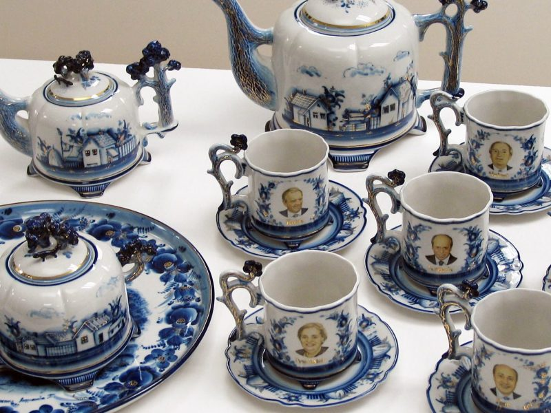 tea set, Albright, Diplomacy Center