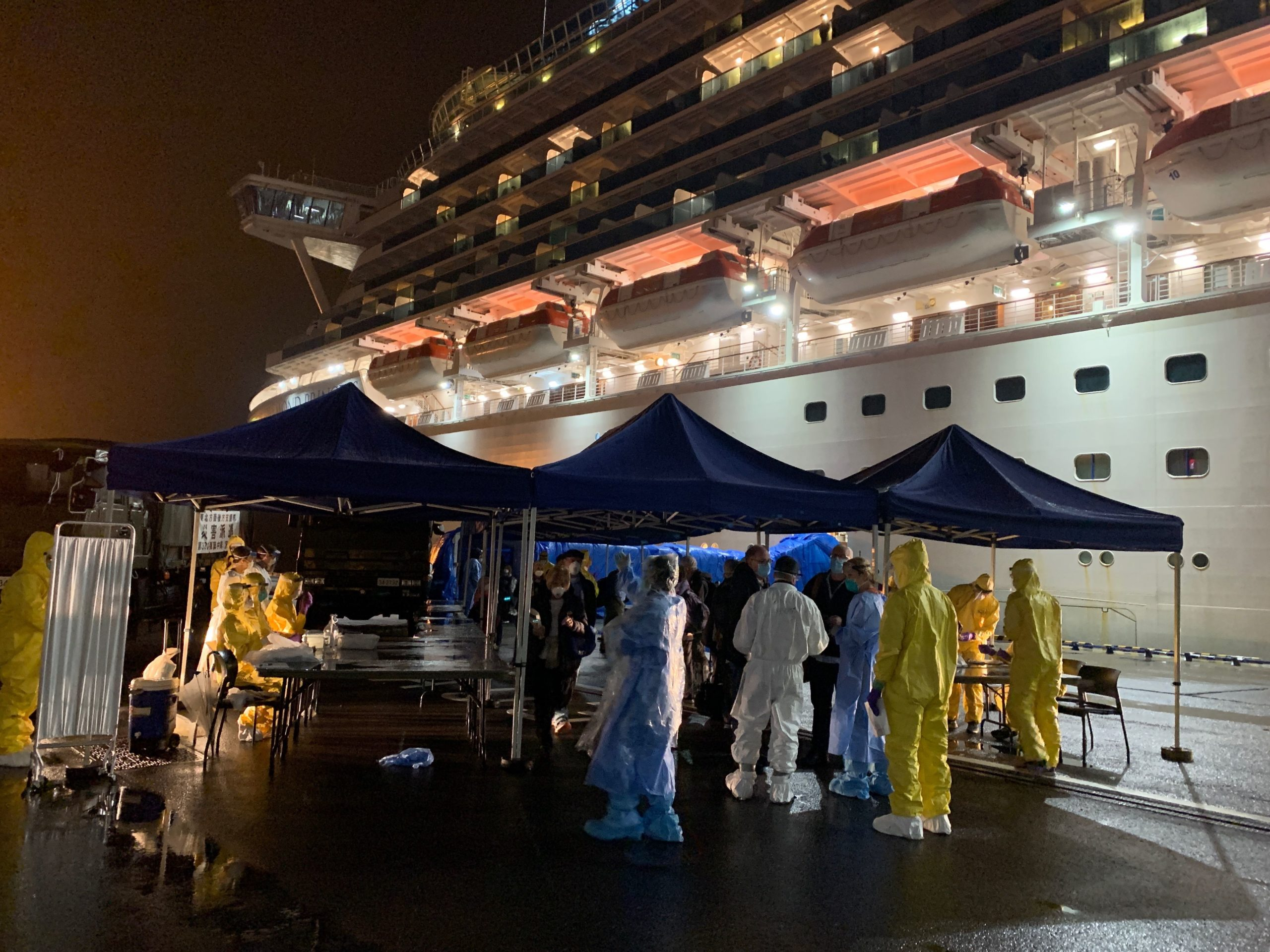 Staff at U.S. Embassy Tokyo demonstrated unfailing professionalism in assisting American passengers with repatriation from the Diamond Princess cruise ship. They continued to support Americans recovering from COVID-19 in Japanese hospitals, with welfare check-in calls and repatriation updates.