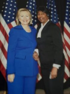 In her leadership roles as a Public Affairs Officer, Claudia had the opportunity to meet and plan visits for top level officials including Secretary of State Hilary Clinton.