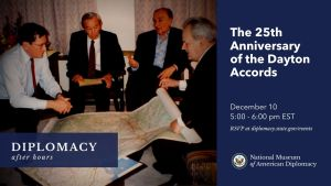 Diplomacy After Hours Dayton Accords