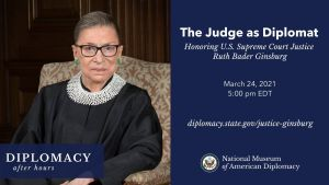 ruth bader ginsburg diplomacy after hours