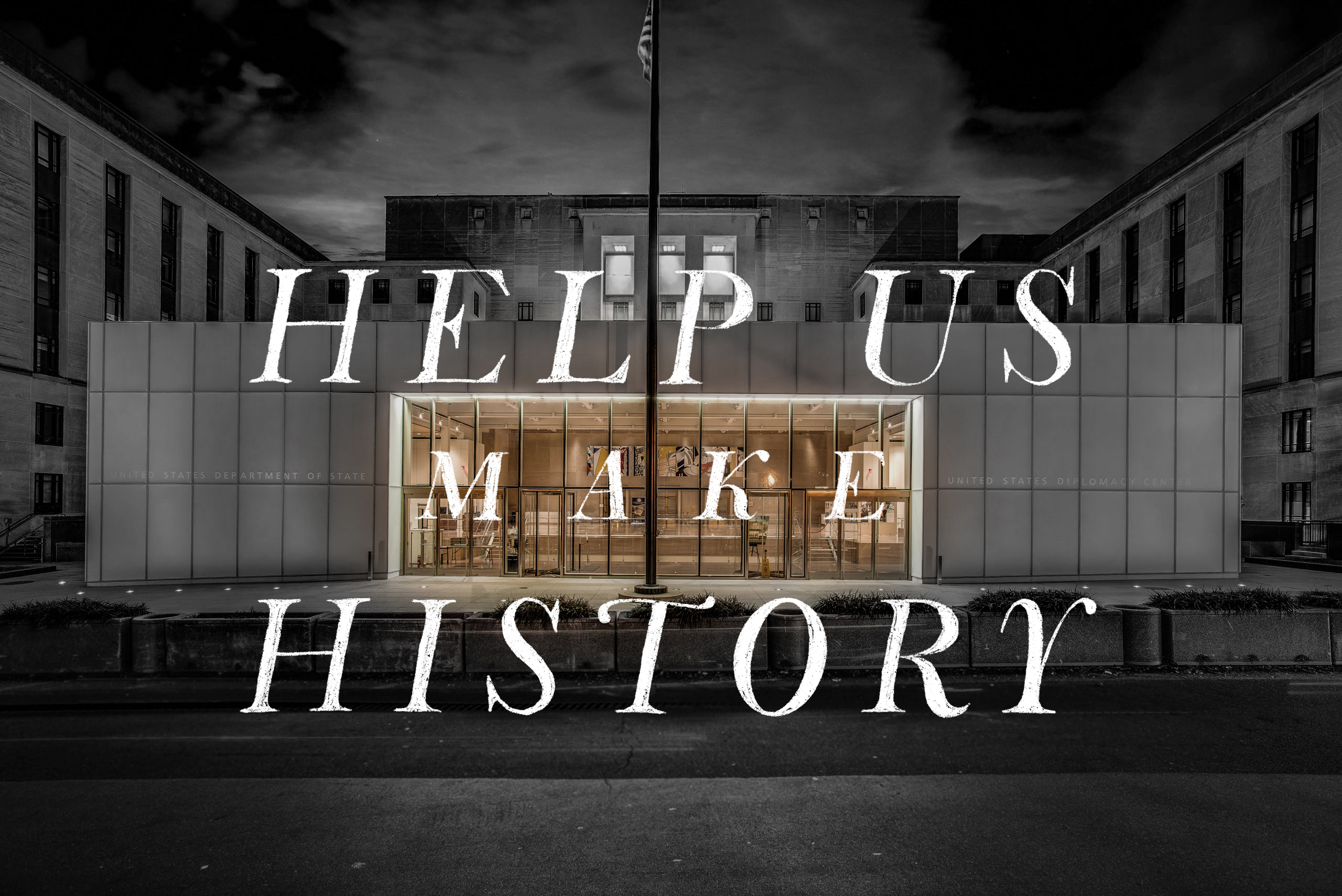 Help support the National Museum of American Diplomacy and make history.