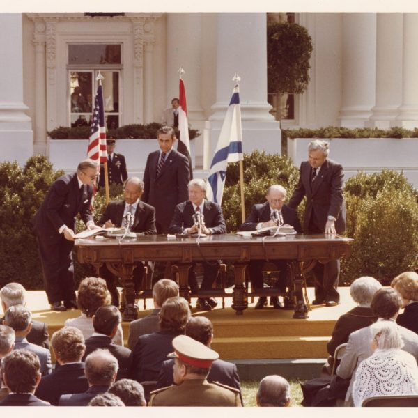 2017.0052.136 Hansell at Egypt Israel Treaty signing scaled