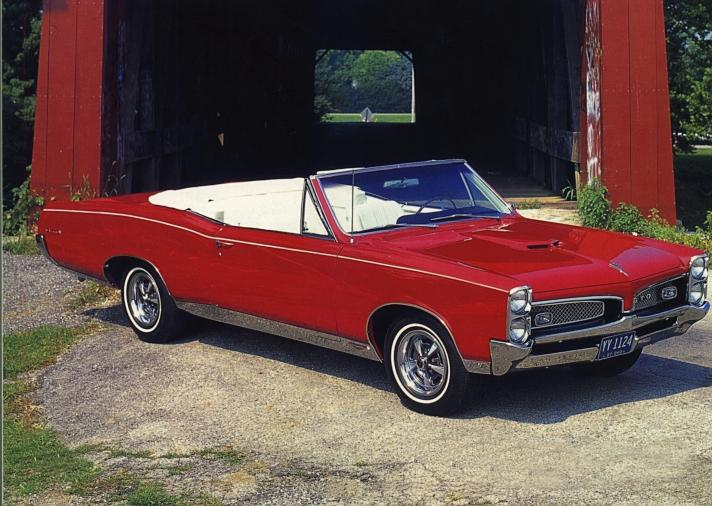 The 1967 Pontiac GTO was the first muscle car