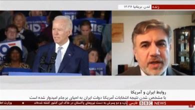 تصویر از مصاحبه با بی بی سی ۱۸ نوامبر ۲۰ درباره بازگشت ایران و اروپا به برجام