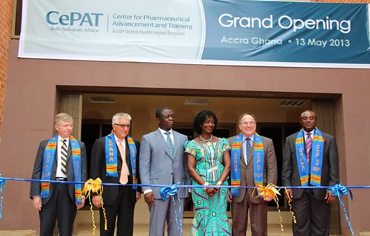 Ambassador Gene A. Cretz at the Inauguration of Center for Pharmaceutical Advancement and Training