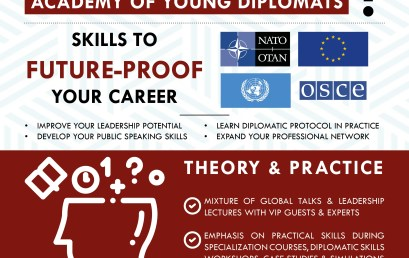 Obtain the Executive Diploma in the Art of Diplomacy!