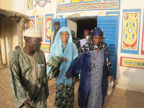 Amb Bisa Williams during a trip to the Zinder region in 2011(Photo via US EMbassy Niamey/FB)