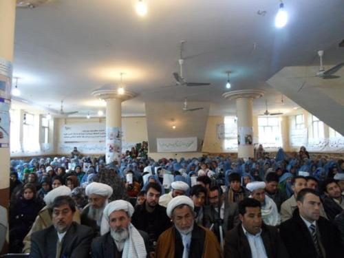 Women's Day in Badgdis -USCon Herat