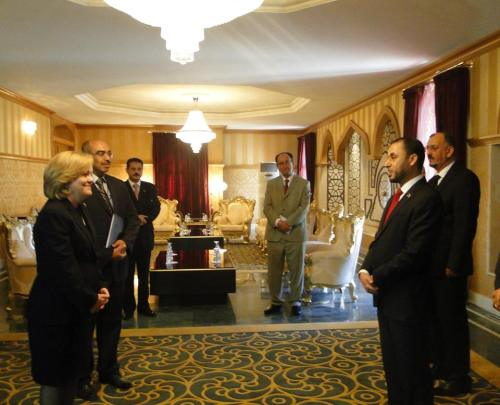 Photo via US Embassy Tripoli/FB