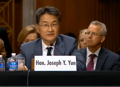 Joseph Y. Yun (screengrab from YouTube)