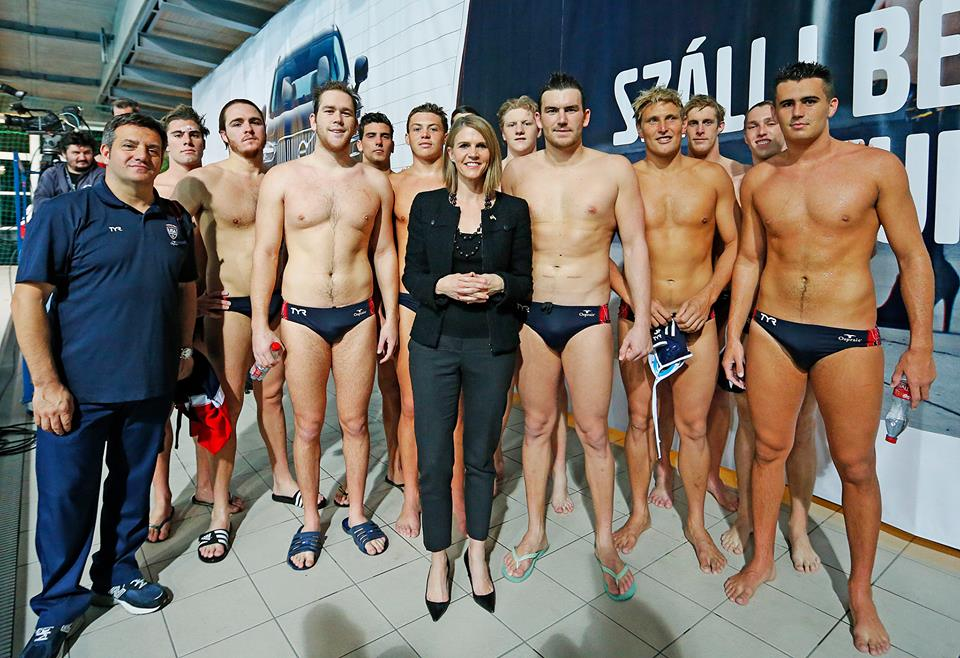 187 Photo Of The Day Amb Bell With Team Usa At The U S
