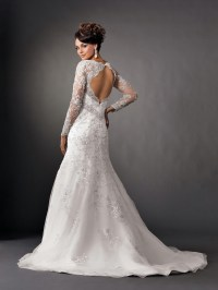 2014  2015 Wedding Dress Trends  Lace Sleeves  Dipped ...
