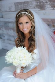 wedding hairstyles with veils