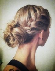 2016 bridesmaid hairstyles - dipped
