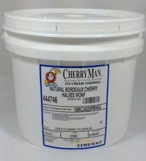CherryMan® Bordeaux Cherry Halves | ZBB148
