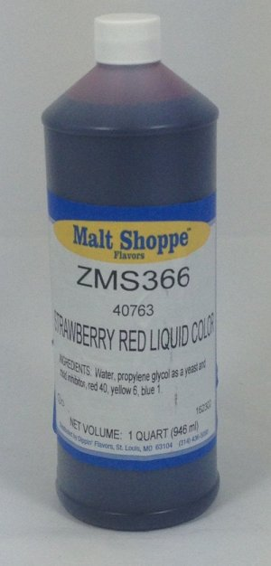 Strawberry Red Color | ZMS366