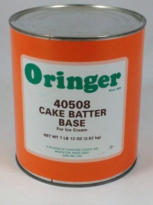 Cake Batter Base | ZCF508