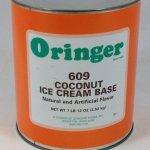 Coconut Ice Cream Base   ZCF609